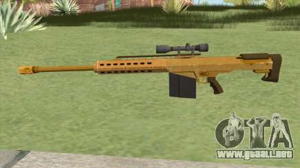 Heavy Sniper GTA V (Gold) V3 para GTA San Andreas