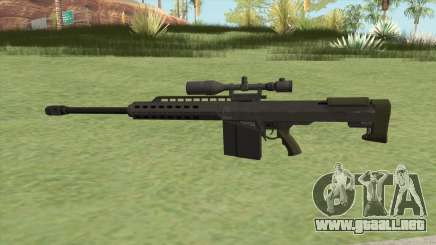 Heavy Sniper GTA V (Green) V1 para GTA San Andreas