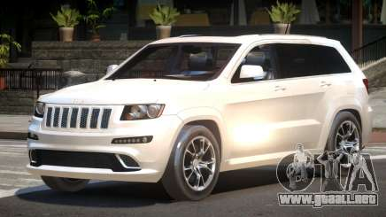 Jeep Grand Cherokee Edit para GTA 4