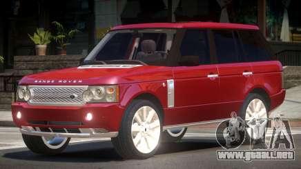 Range Rover Supercharged Edit para GTA 4