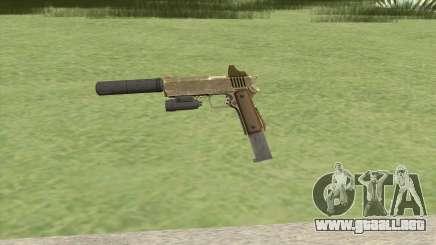 Heavy Pistol GTA V (Army) Full Attachments para GTA San Andreas