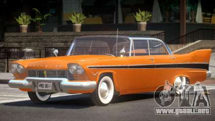 Plymouth Belvedere Old para GTA 4