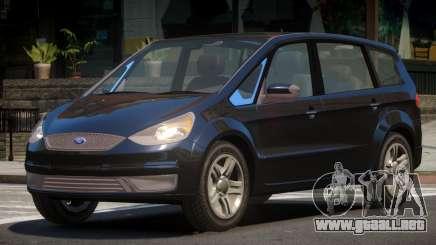 Ford S-Max V1.0 para GTA 4