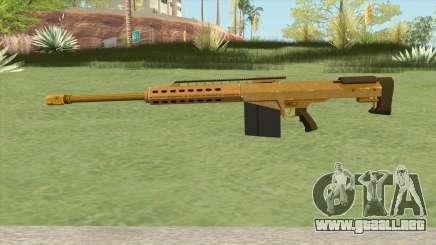 Heavy Sniper GTA V (Gold) V2 para GTA San Andreas
