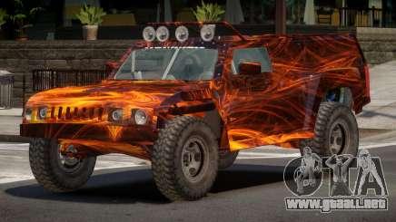 Hummer H3 Edit PJ1 para GTA 4