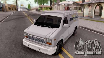 Mullido Newsvan NFS MW para GTA San Andreas