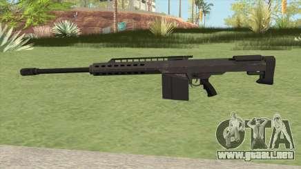 Heavy Sniper GTA V (Black) V2 para GTA San Andreas