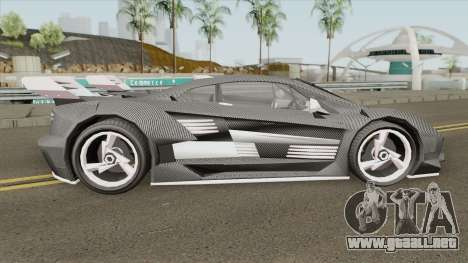 Pegassi Lampo K20 (Carbon) GTA V para GTA San Andreas