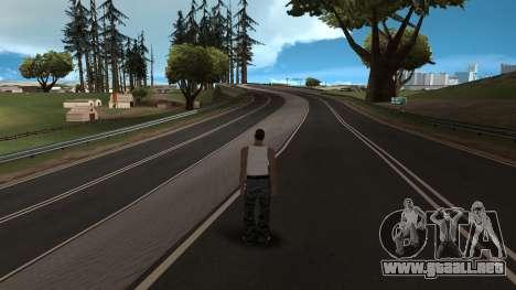 Rumano HQ Carreteras v2 para GTA San Andreas