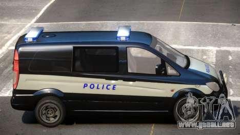 Mercedes Benz Vito Police para GTA 4