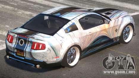 Shelby GT500 SR PJ2 para GTA 4