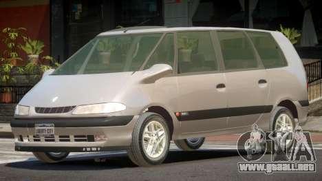 Renault Grand Espace V1.0 para GTA 4