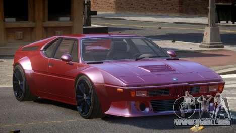 BMW M1 GT para GTA 4