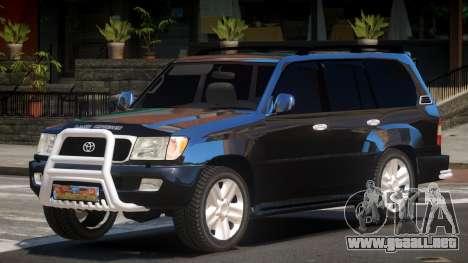Toyota Land Cruiser 100 LS para GTA 4