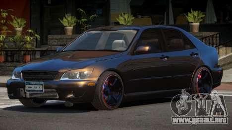 Lexus IS300 V1.2 para GTA 4