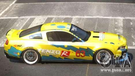 Shelby GT500 SR PJ3 para GTA 4