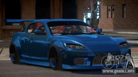 Mazda RX-8 R-Tuning para GTA 4