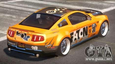 Shelby GT500 SR PJ1 para GTA 4