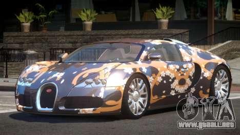 Bugatti Veyron DTI PJ2 para GTA 4