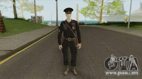 Patrol Police Officer (Russia) para GTA San Andreas