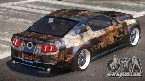 Shelby GT500 SR PJ4 para GTA 4