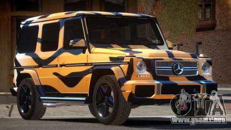 Mercedes Benz G65 E-Style PJ5 para GTA 4