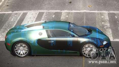 Bugatti Veyron DTI PJ1 para GTA 4