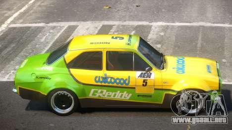 Ford Escort GT PJ4 para GTA 4