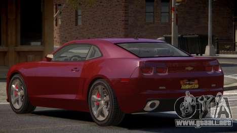 Chevrolet Camaro ST V1.1 para GTA 4