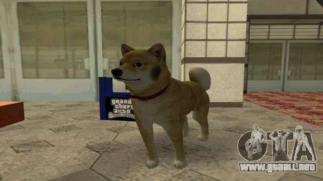 Siguientes Perro (CLEO 4) para GTA San Andreas