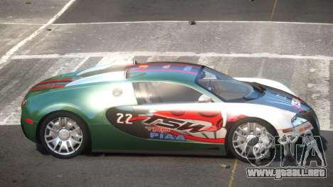 Bugatti Veyron DTI PJ7 para GTA 4