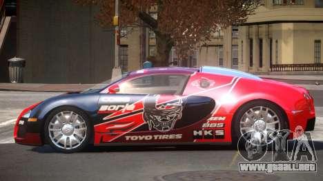 Bugatti Veyron DTI PJ6 para GTA 4