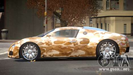 Bugatti Veyron DTI PJ5 para GTA 4