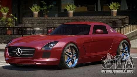Mercedes-Benz SLS E-Style para GTA 4