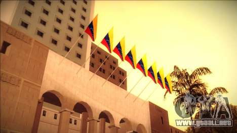 Bandera de venezuela en el ayuntamiento y en la  para GTA San Andreas