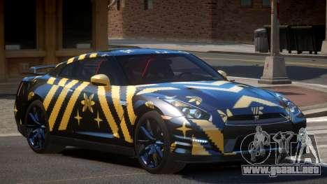 Nissan GT-R Qz PJ3 para GTA 4