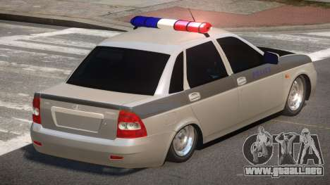 Lada Priora Police V1.1 para GTA 4