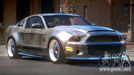 Shelby GT500 SR PJ6 para GTA 4