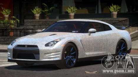 Nissan GT-R Qz PJ2 para GTA 4