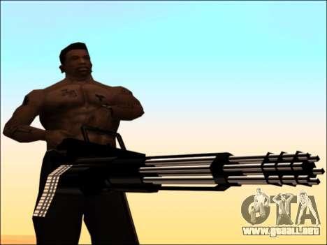 Pak armas de Oro Blanco para GTA San Andreas