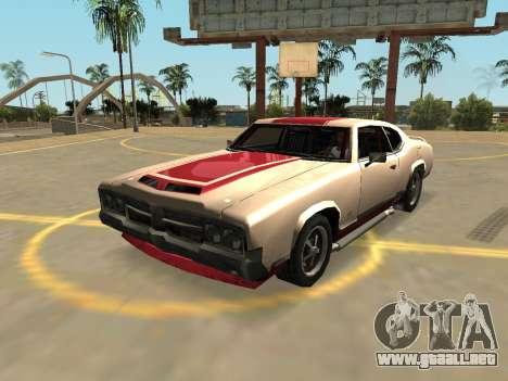Declasse Sabre Turbo (Insignias Y Extras) para GTA San Andreas