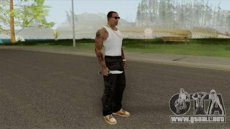 Knife (HD) para GTA San Andreas
