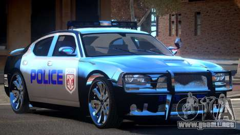 Dodge Charger LS Police para GTA 4