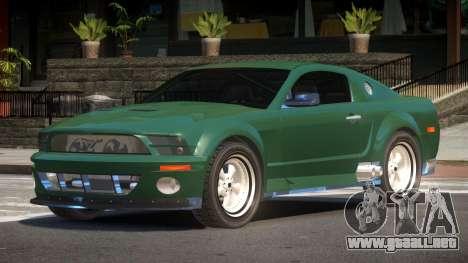 Ford Mustang GT S-Tuned para GTA 4