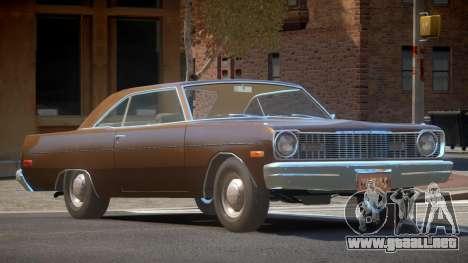 Dodge Dart RT para GTA 4