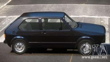 Volkswagen Golf MK1 RS para GTA 4