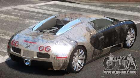 Bugatti Veyron DTI PJ4 para GTA 4