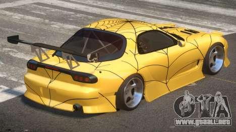 Mazda RX-7 RT Tuning PJ5 para GTA 4