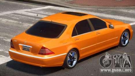 Mercedes-Benz S600 SE para GTA 4