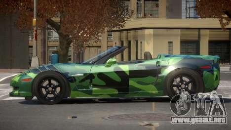 Chevrolet Corvette SR PJ3 para GTA 4